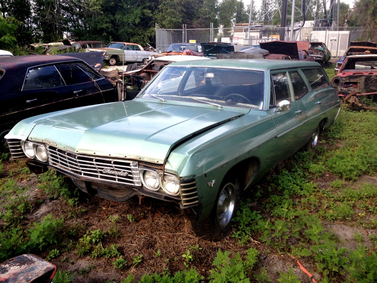 1967 Chevy Bel Air 4-door Wagon