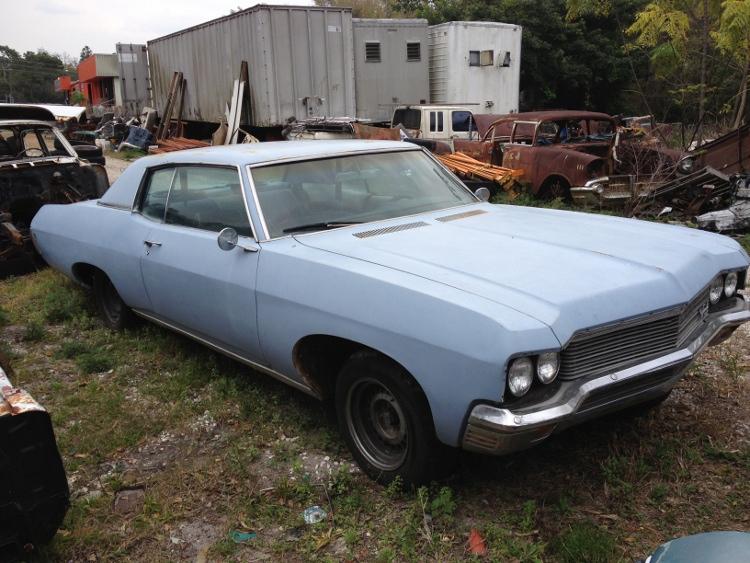 1970 2-Door Custom Impala Hardtop